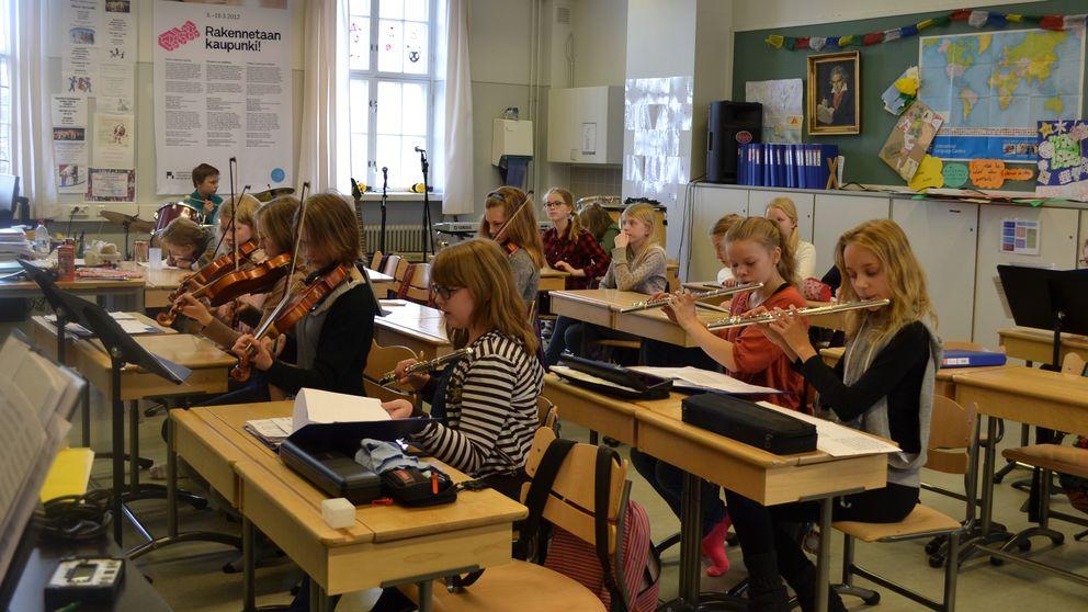 Retrato del éxito: un día cualquiera en un colegio público de Finlandia