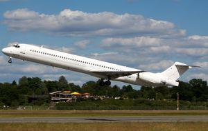 Un avión de Swiftair idéntico sufrió la explosión de un motor en 2013