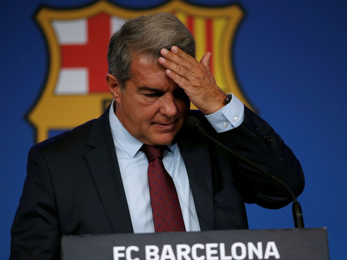 Foto: Joan Laporta, presidente del FC Barcelona. (EFE)