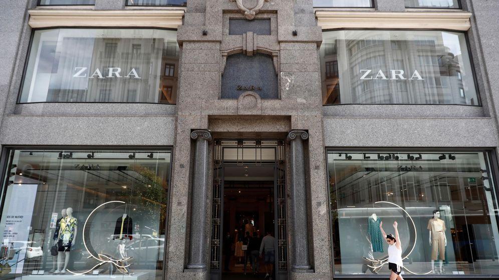 Foto: Fachada de la tienda de Zara en la Gran Vía de Madrid. (EFE)