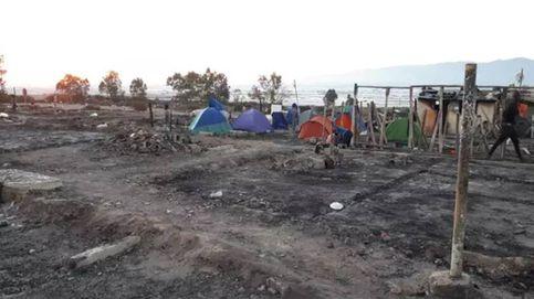Un incendio quema unas 80 chabolas en un poblado de Níjar (Almería)