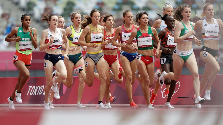 Marta Pérez realizó una muy buena carrera. (EFE)