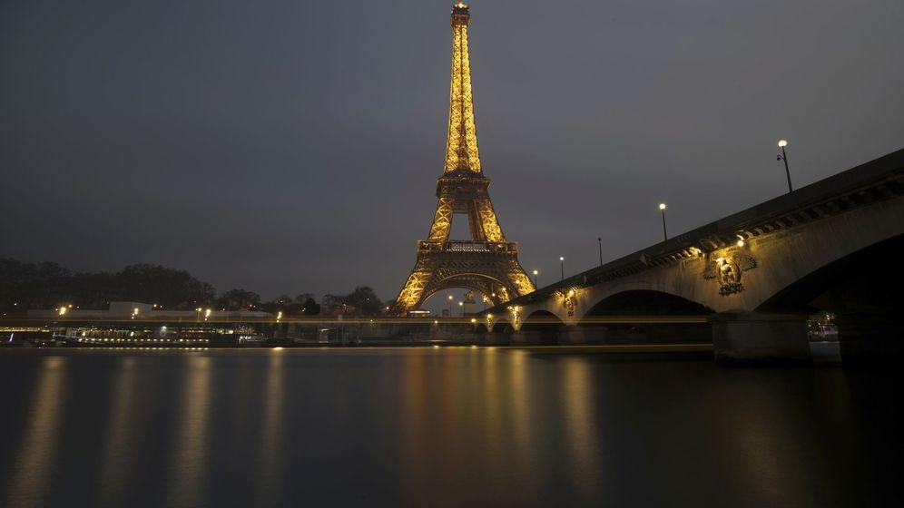 Foto: Vista de la Torre Eiffel. (Reuters)