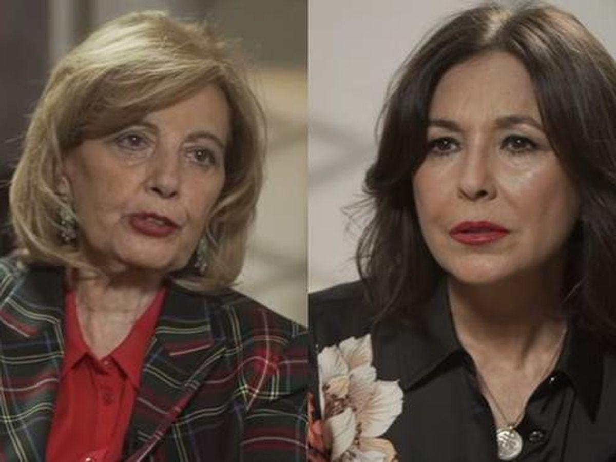 Foto: María Teresa Campos e Isabel Gemio. (YouTube)