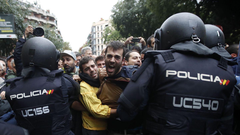 Tensión en Barcelona. (Reuters)