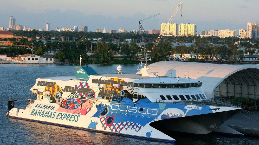Foto: El Pinar del Rio, la primera apuesta internacional de Baleària, en Miami.