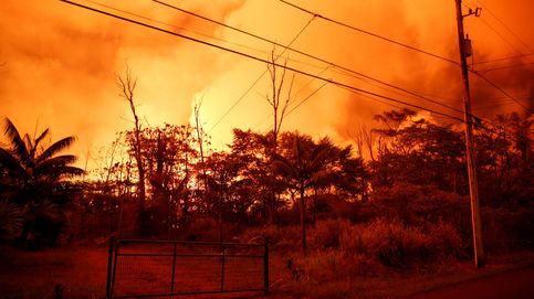 Rescatan a tres personas que estaban atrapadas por la lava del volcán Kilauea