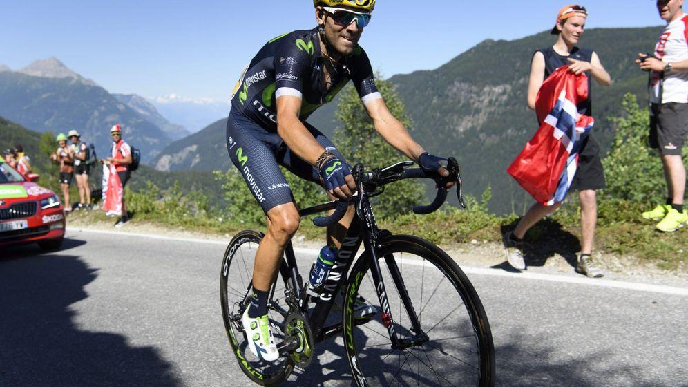 Foto: Valverde persigue su primera medalla olímpica (Yoan Valat/EFE)