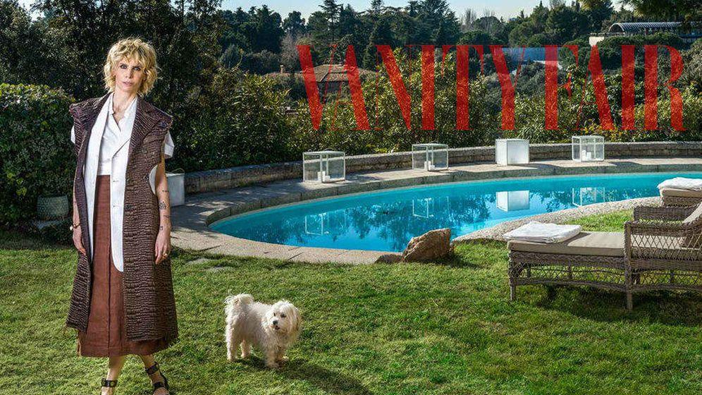 Foto: Astrid Gil-Casares en una imagen de su reportaje para 'Vanity Fair'.