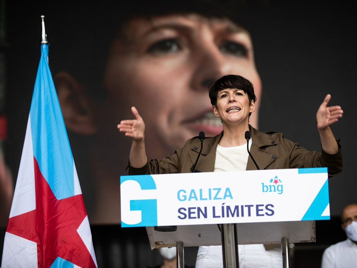 Foto: La portavoz nacional del BNG, Ana Pontón. (EFE)