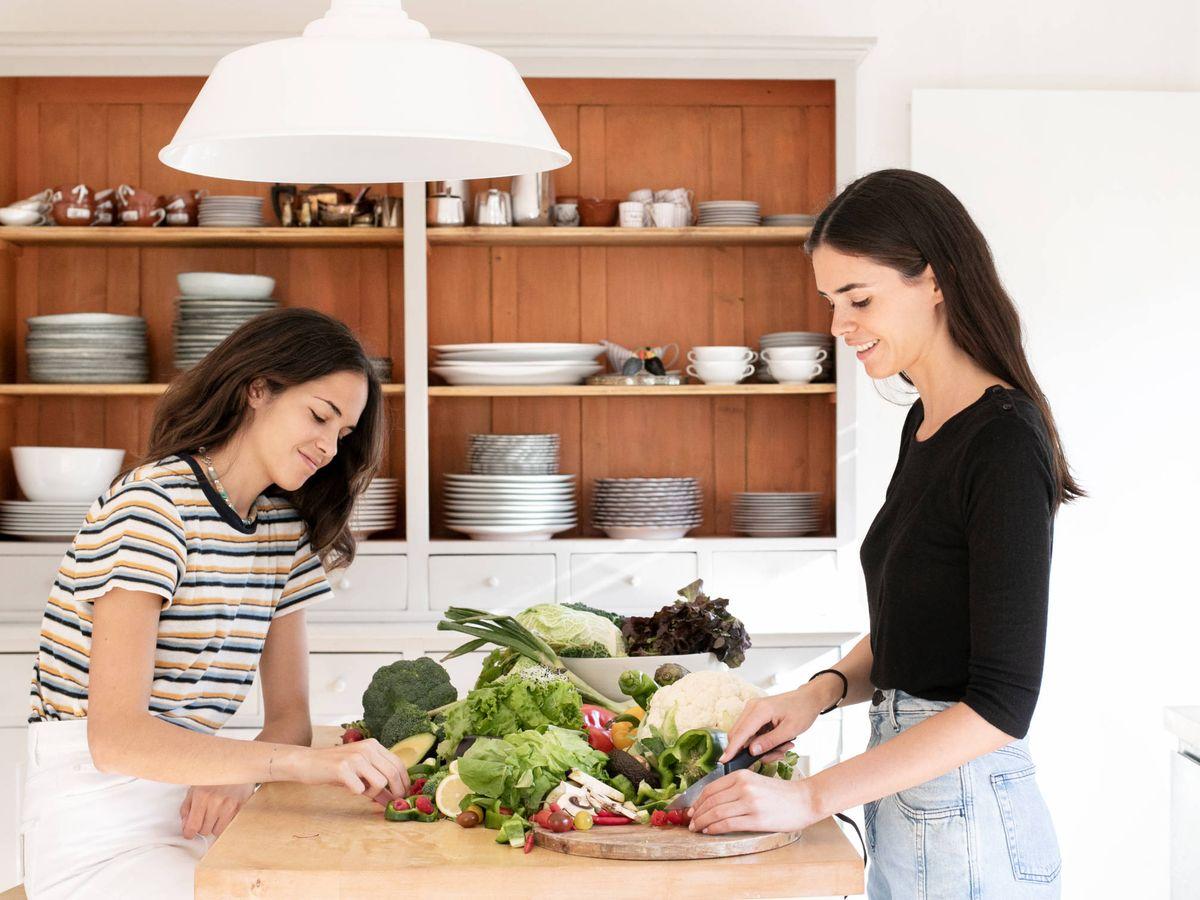 Foto: Pino Gil de Biedma (izquierda) e Isabel Entrecanales (derecha). (Cortesía)