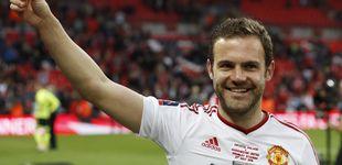 Post de Los españoles Mata y Herrera, entre las 'víctimas' de Mourinho en el United