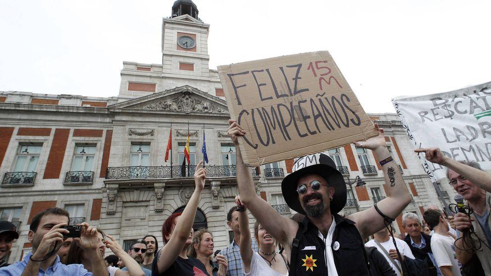 Así surgió la 'hipótesis' Podemos: el camino de las plazas a las instituciones