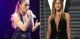 Post de Jennifer Aniston contra Jennifer López: enfrentadas por un vestido
