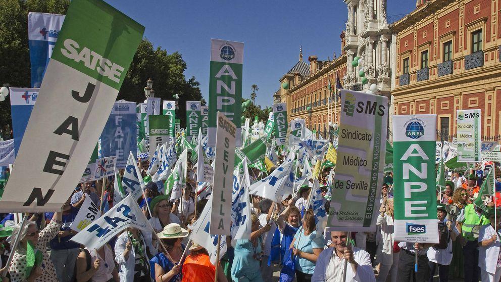 Cuentas andaluzas: tijera para funcionarios pero no a enchufados