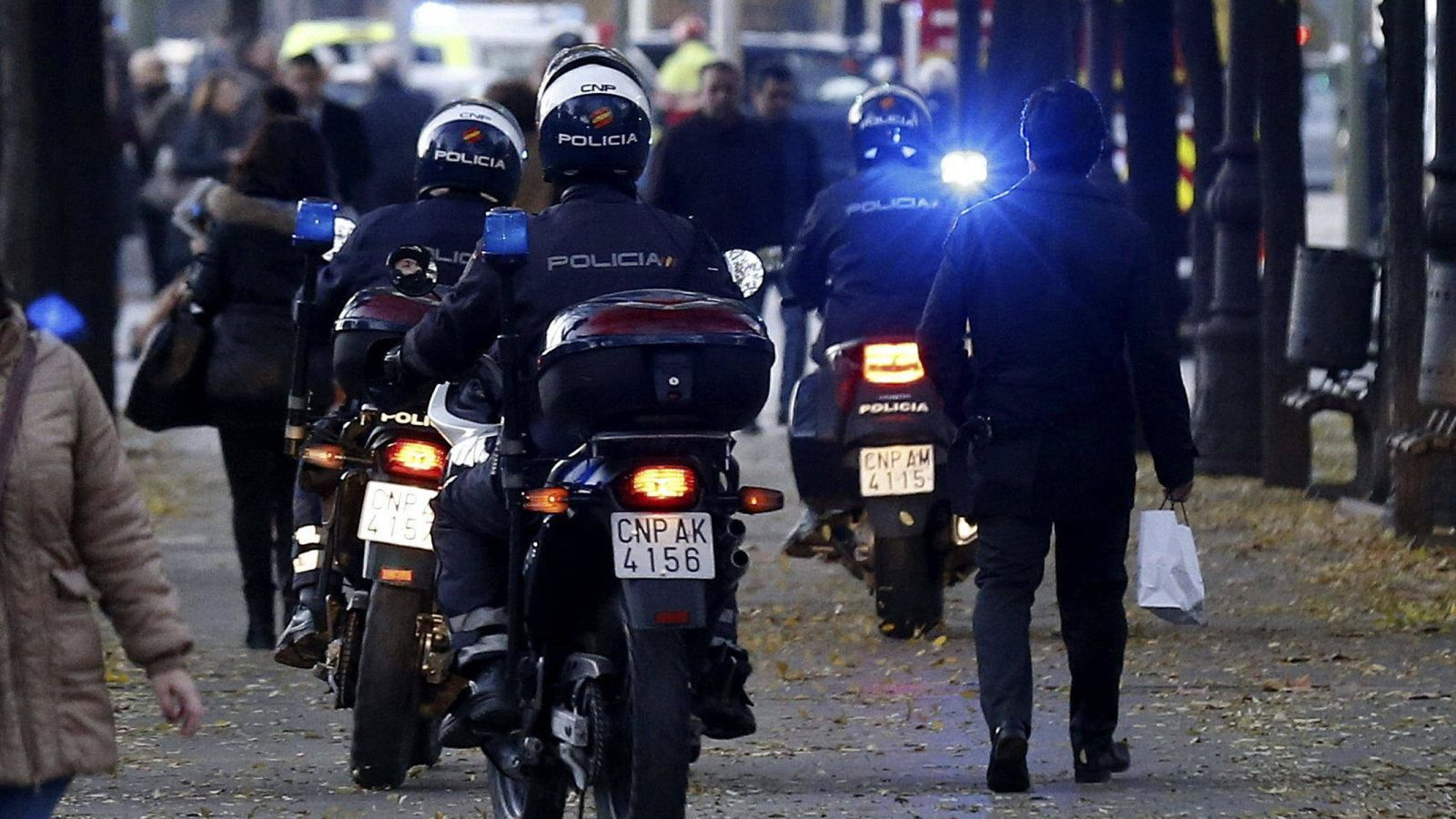 Foto: Agentes de la Policía Nacional. (EFE)