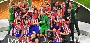 Post de Griezmann regala al Atlético de Madrid la tercera Europa League con un doblete