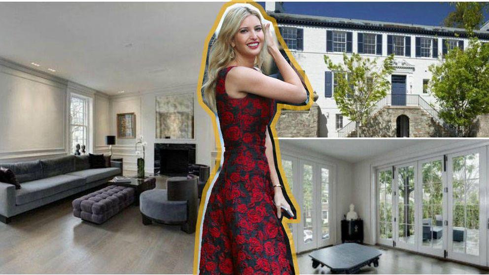 Así es la mansión con la que Ivanka Trump será vecina de Obama en Washington