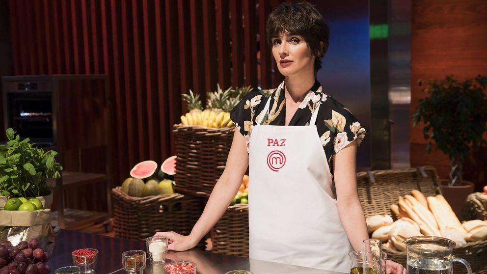 Paz Vega, emocionada por ser la segunda finalista de 'MasterChef Celebrity'