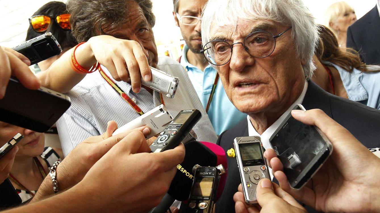 Foto: Bernie Ecclestone (REUTERS/Xavier Galiana)
