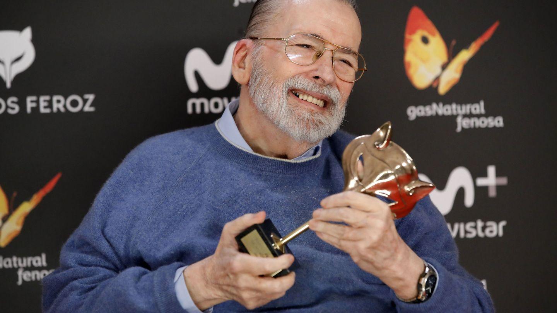 Chicho Ibáñez Serrador, en los Premios Feroz. (EFE)