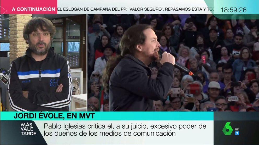La opinión de Jordi Évole tras la crítica de Pablo Iglesias a los medios