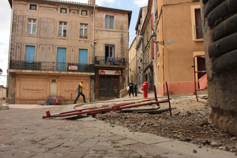 Foto: Imagen del casco histórico de Béziers, ciudad gobernada por la extrema derecha (Foto: Irene Ortega).