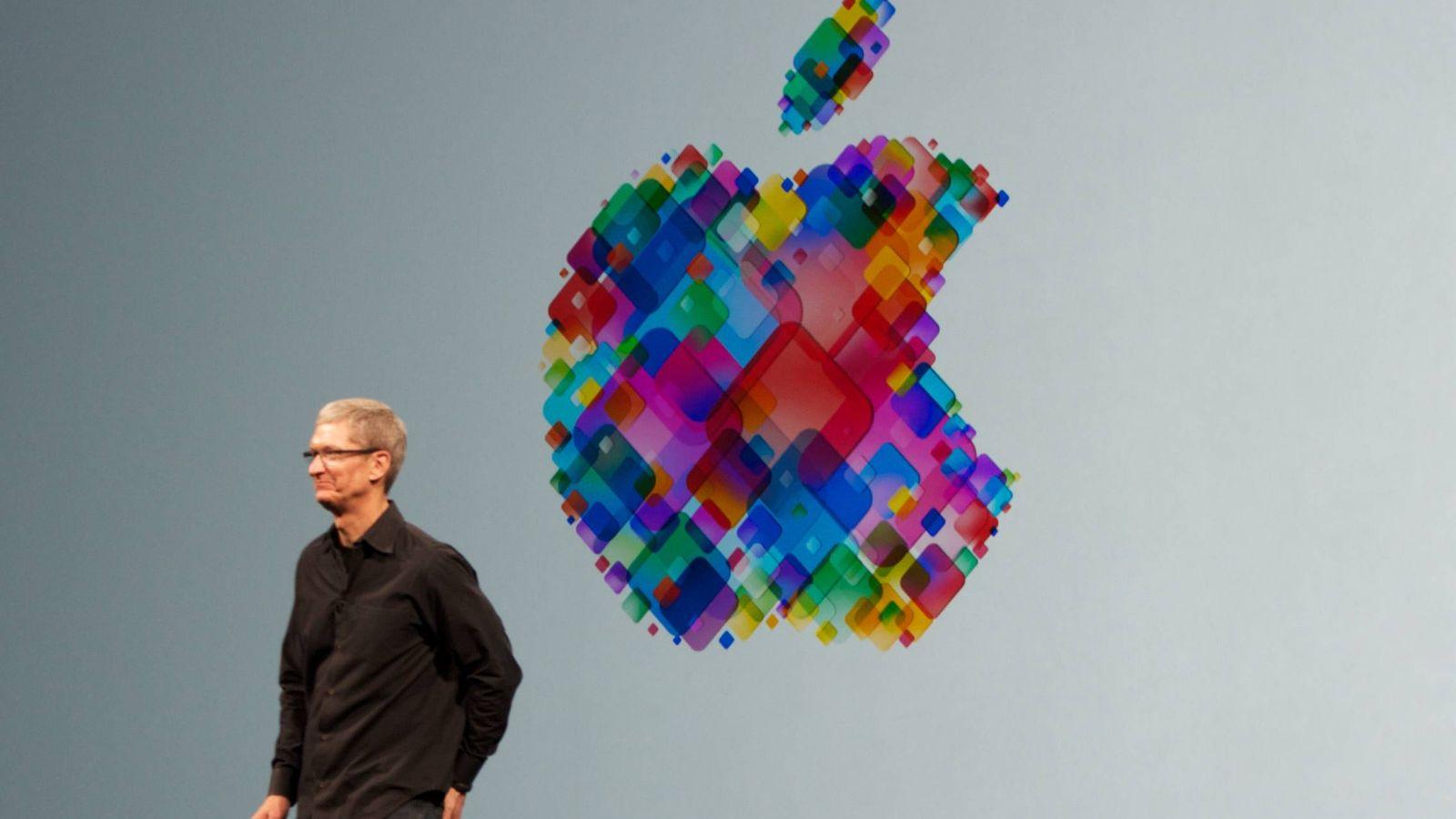 Foto: El CEO de Apple, Tim Cook