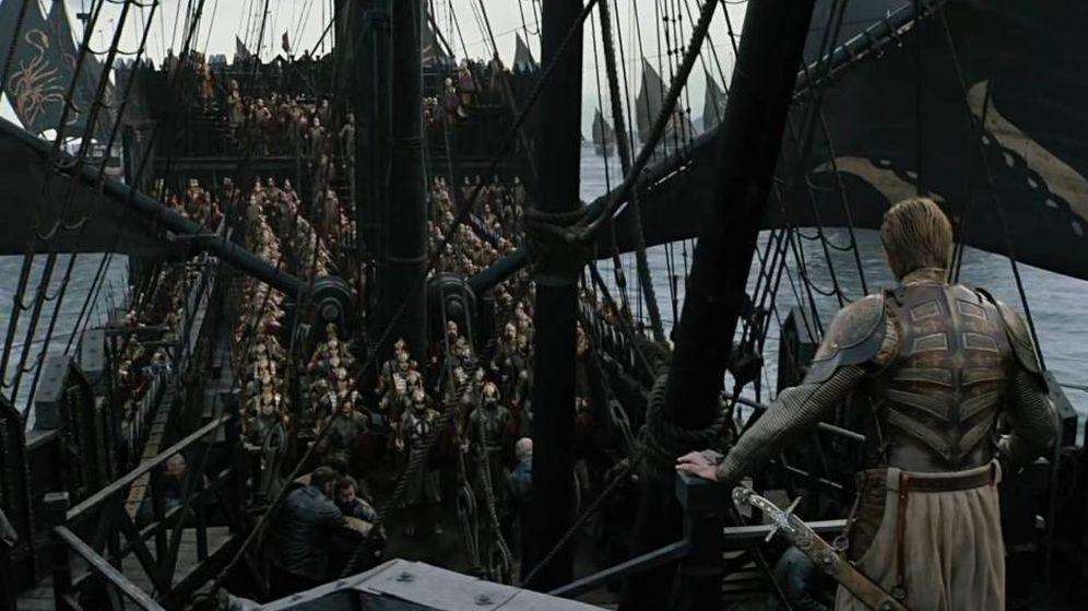 Foto: La Compañía Dorada llega a Desembarco del Rey. (HBO)