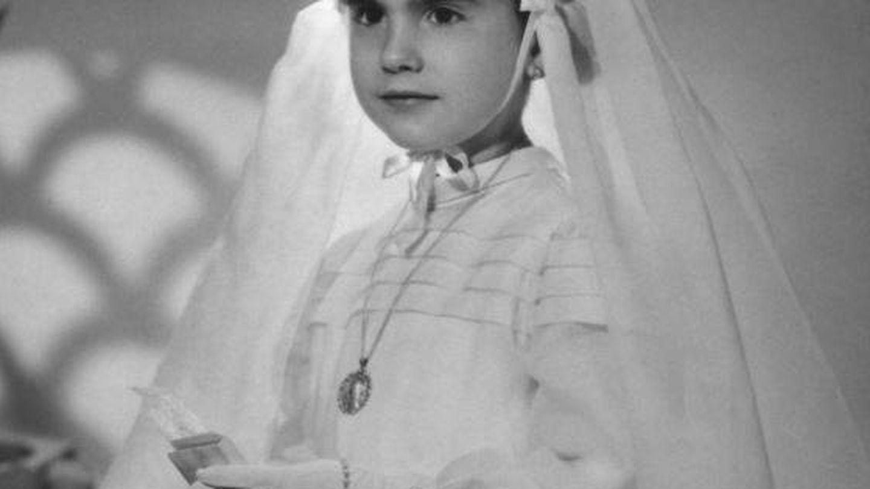 Campoy cuando solo era una niña. (Plaza & Janés)