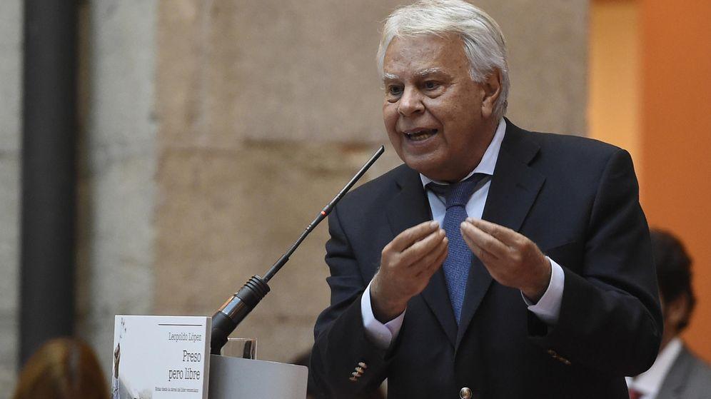 Foto: El expresidente de Gobierno Felipe González. (EFE)