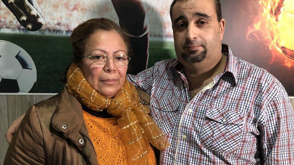 Foto:  Rosa y su marido, Trino. (N. A.)
