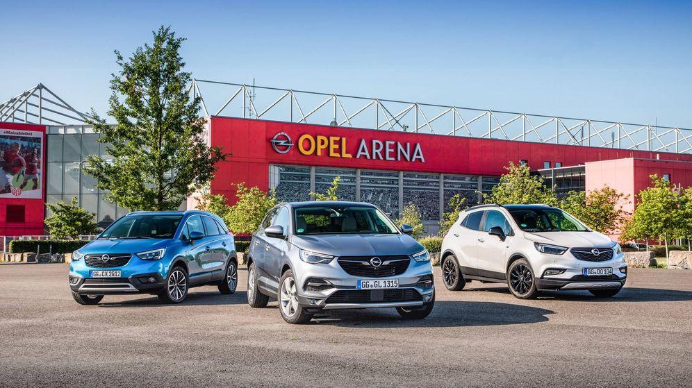 Foto: Los Opel Mokka X, Crossland X y Grandland X desde ahora ofrecen motores más eficientes y limpios.