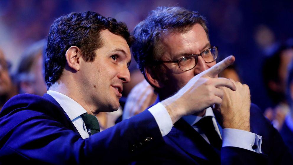 Ni Aznar ni Rajoy, Moreno y Feijóo son los referentes del PP de Casado