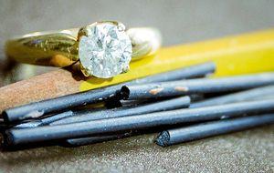 La ciencia de convertir el grafito en diamante