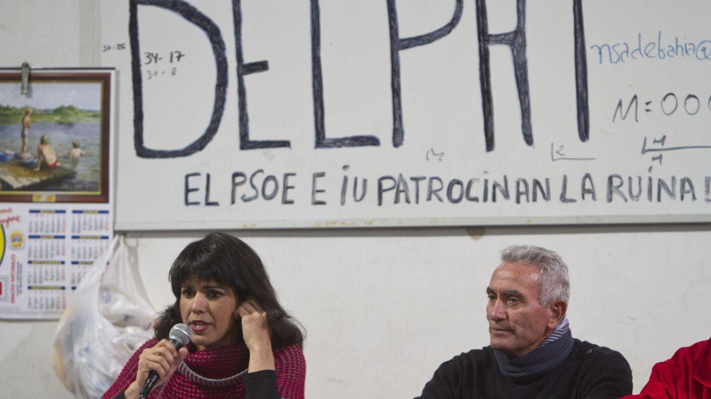 Pulso abierto en Podemos: Teresa Rodríguez reclama a Cañamero en las listas