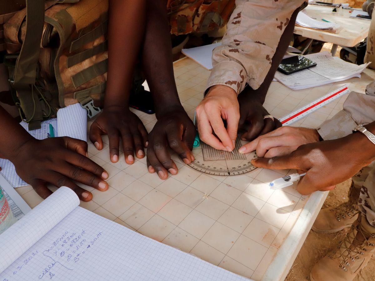Foto: Fotografía de archivo de EUTM-Malí. (Reuters)