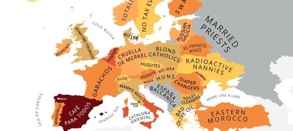 Foto: Europa según los españoles.