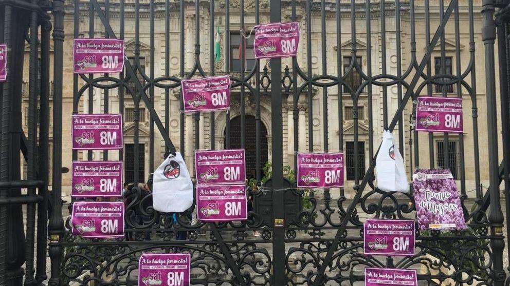 La huelga feminista 8M vacía las aulas de las universidades e institutos españoles