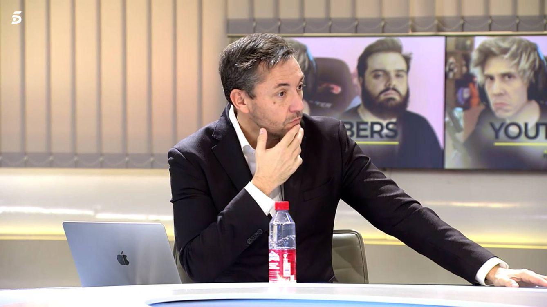 Javier Ruiz, amenazado de muerte tras criticar a los 'youtubers' en 'Cuatro al día'