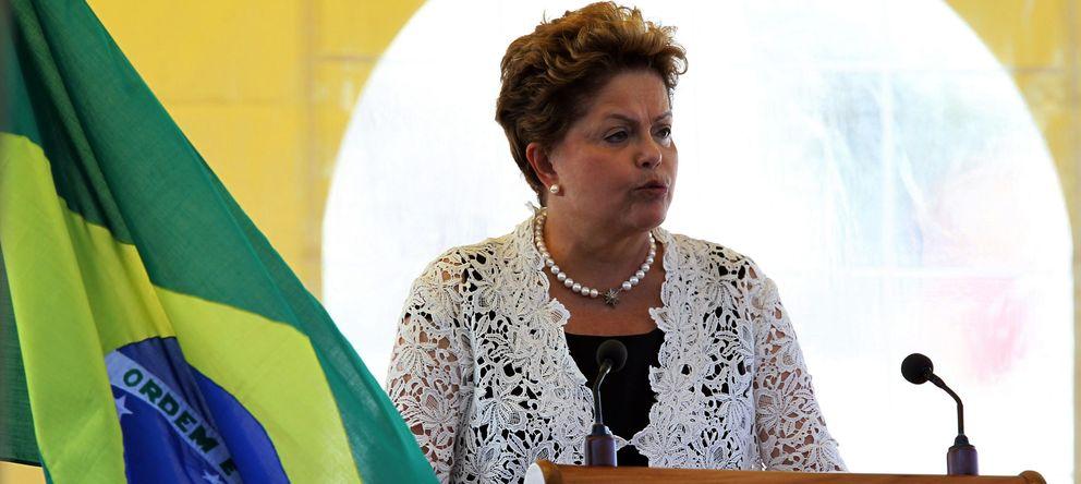 Foto:  La presidenta de Brasil, Dilma Rousseff