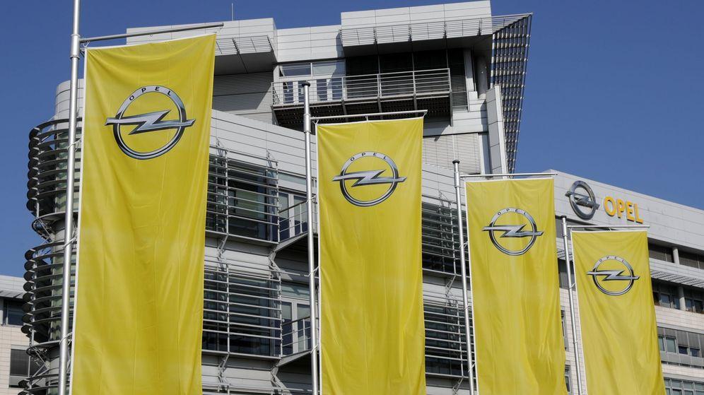 Foto: Vista un edificio de la empresa alemana Opel en Ruesselsheim, Alemania. (Efe)