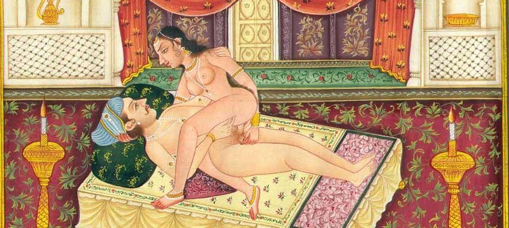 Foto: Ilustración perteneciente a una edición del 'Kama Sutra' del siglo XIX. (Wikimedia Commons)