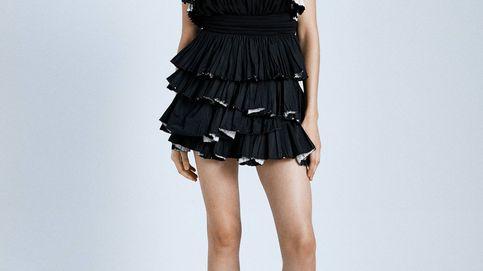 El maravilloso conjunto de falda y blusa de Zara que te dejará sin palabras