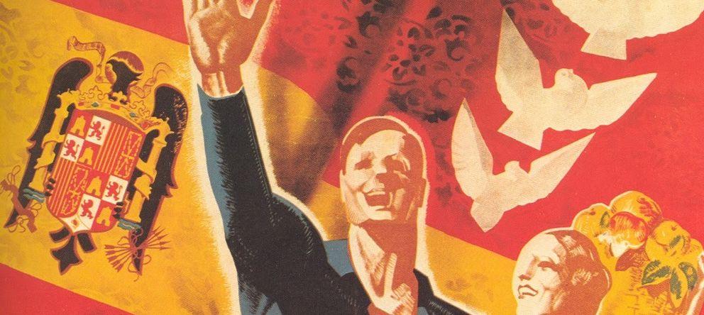 Foto: Cartel propagandístico del franquismo.