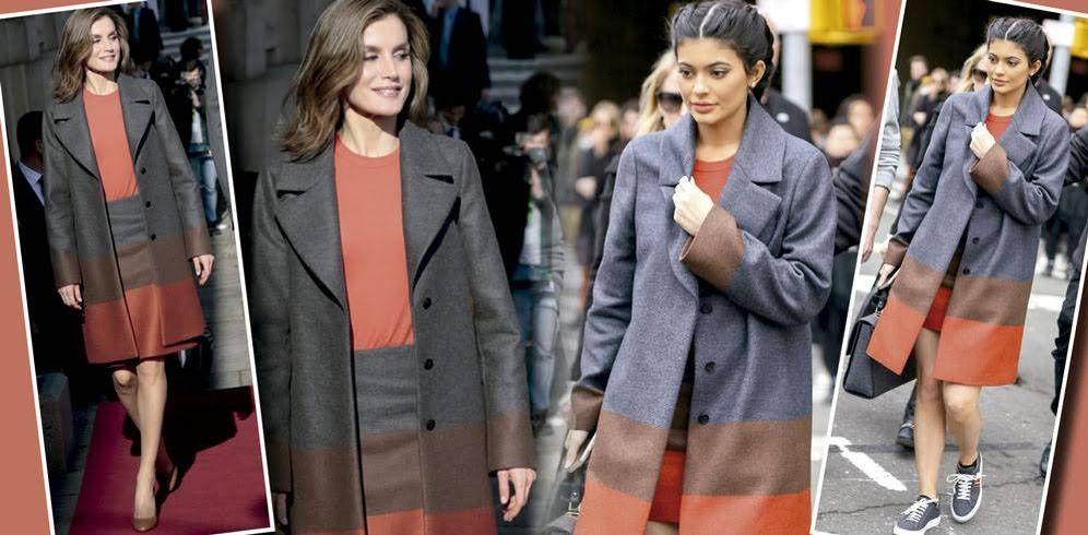 Foto: Kylie Jenner y la Reina Letizia con el mismo modelito de Hugo Boss (Gtres)