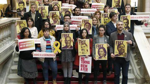 Los diputados soberanistas quieren paralizar el Parlament cada vez que un preso testifique