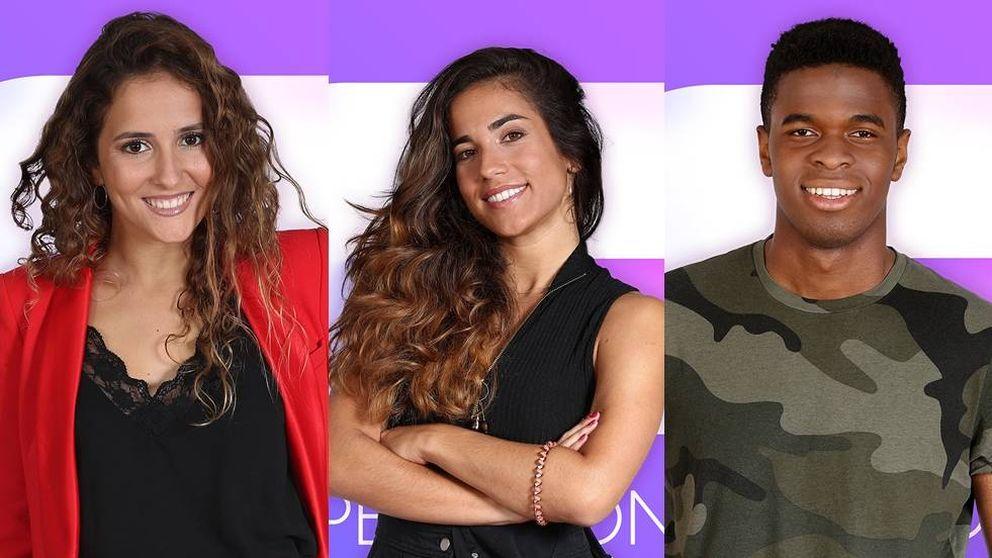 Marilia, Julia y Famous, concursantes de 'OT 2018'
