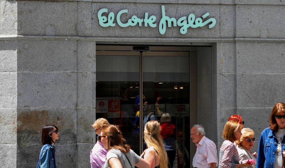 Foto: Fachada de El Corte Inglés, en Madrid. (Reuters)