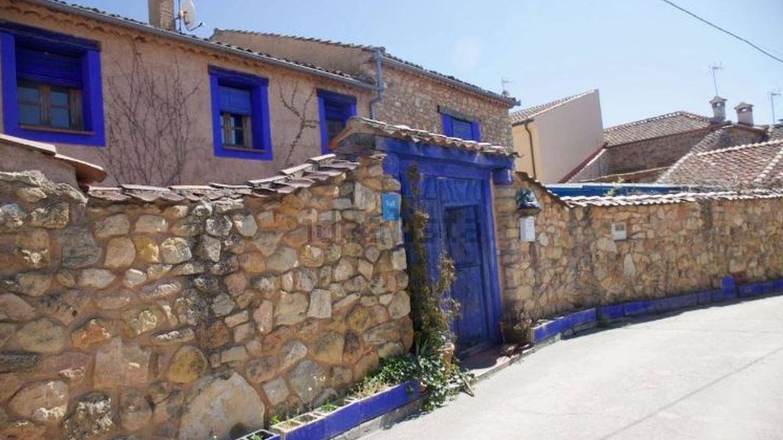 La entrada de la casa de Lucía Bosé. (Idealista)